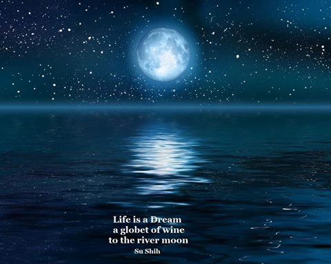 Life is a Dream, river moon